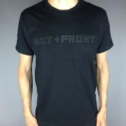 Shirt Logo schwarz