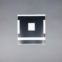Heckscheiben Aufkleber Logo